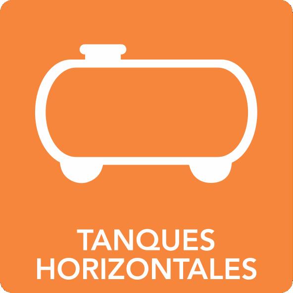 Tanques horizontales